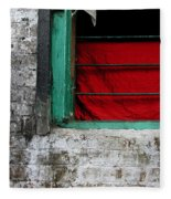 Dharamsala Window Fleece Blanket