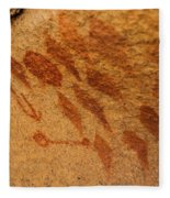 Diamond Pictographs Fleece Blanket