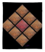 Diamond Red Fleece Blanket