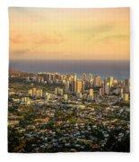 Diamondhead -- Jewel Of Oahu Fleece Blanket