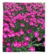 Dianthus Fleece Blanket