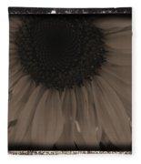 Diatrop Three Quarter Sunflower Fleece Blanket