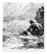 Dickens: Our Mutual Friend Fleece Blanket
