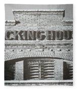 Dick's Brewery-historical Architecture  Fleece Blanket