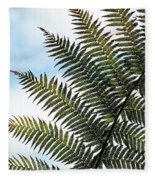 Dicksonia Frond Fleece Blanket