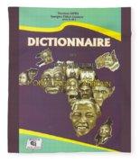Dictionary Of Negroafrican Celebrities 1 Fleece Blanket