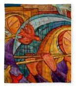 Die Zauberflote Fleece Blanket
