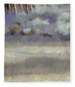 Different Types Of Clouds Fleece Blanket