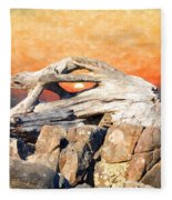 Diftwood Sunset Fleece Blanket