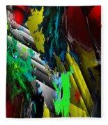 Digital Abstraction 070611 Fleece Blanket