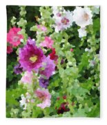 Digital Artwork 1391 Fleece Blanket