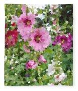 Digital Artwork 1394 Fleece Blanket
