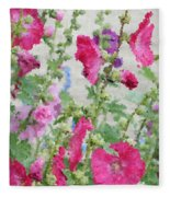 Digital Artwork 1417 Fleece Blanket