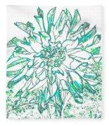 Digital Drawing 3 Fleece Blanket