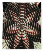 Digital Fan Abstract Fleece Blanket