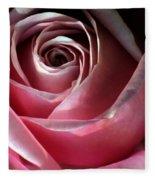 Dimming Rose Fleece Blanket