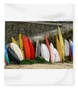 Dinghy Conga Line Fleece Blanket