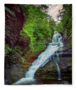 Dingmans Falls Fleece Blanket