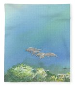 Dining Out Fleece Blanket