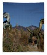 Dinosaur 10 Fleece Blanket