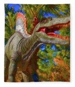 Dinosaur 12 Fleece Blanket