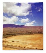 Dirt Farming Fleece Blanket