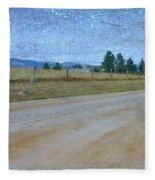 Dirt Road Fleece Blanket