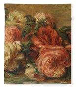 Discarded Roses  Fleece Blanket