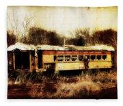 Discarded Train Fleece Blanket
