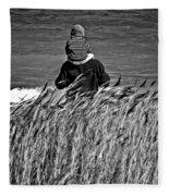 Discovery Bw Fleece Blanket