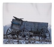 Discovery From The Past Fleece Blanket