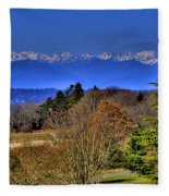 Discovery Park No.2 Fleece Blanket