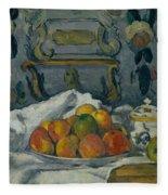 Dish Of Apples Fleece Blanket