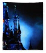 Disney Blues At Night  Fleece Blanket
