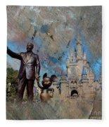 Disney World Fleece Blanket
