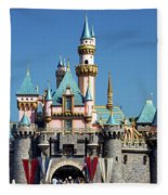 Disneyland Castle Fleece Blanket