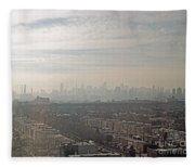 Distant City Fleece Blanket