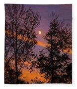 Distant Moon Fleece Blanket