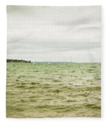 Distant Sails Fleece Blanket