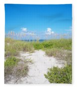 Distant Sea Fleece Blanket