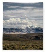 Distater Peak Road -february-0723-r1 Fleece Blanket