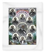 Distinguished Colored Men Fleece Blanket