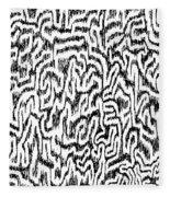 Distortion Fleece Blanket