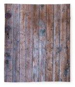 Distressed Door Fleece Blanket