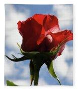Diva Rose Fleece Blanket