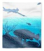 Diver Fleece Blanket
