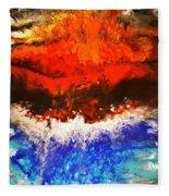 Diverging Fleece Blanket