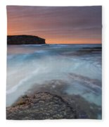 Divided Tides Fleece Blanket