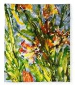 Divine Blooms-21061 Fleece Blanket