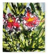 Divine Blooms-21166 Fleece Blanket